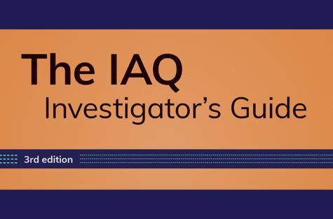 IAQ Investigator Guide border
