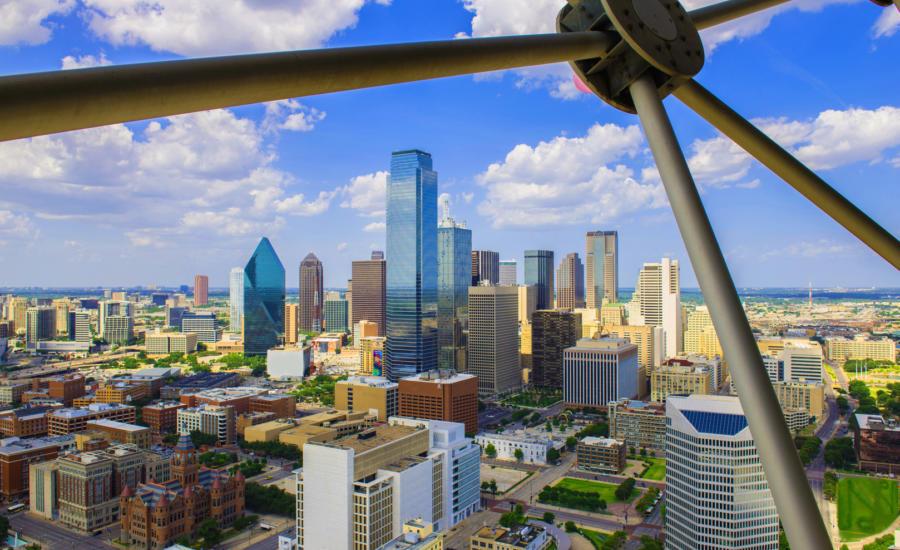 Dallas Skyline Ge O Deck at Reunion Tower rgb hd