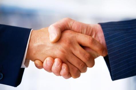 Cooperation handshake