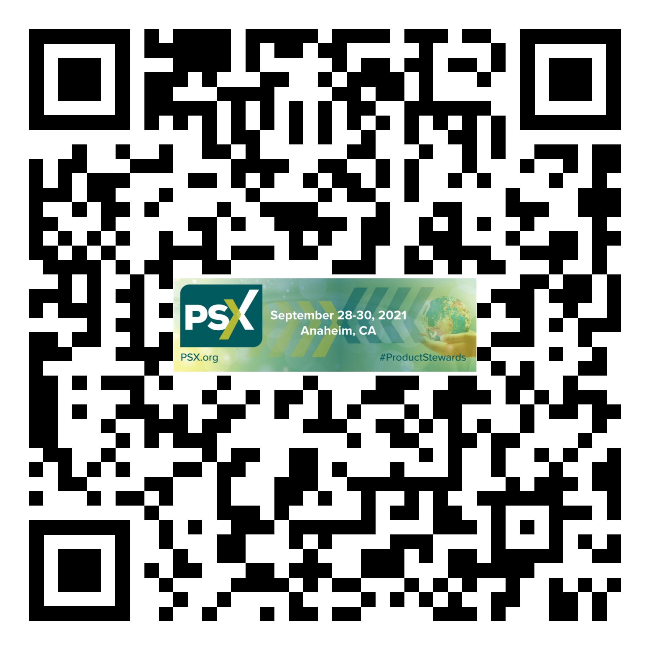 PSX 2021 HealthShield QR Code