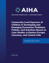 Community Lead Exposure of Children in Developing and Emerging Economies