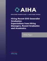 Hiring Recent EHS Generalist Graduates