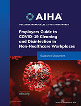 Employers Guide to COVID Cleaning and Disinfection in Non-Healthcare Workplaces
