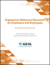Ergonomics Reference Document for Employers and Employees