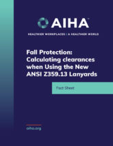 Fall Protection - Calculating Clearances when Using the New ANSI Z359-13 Lanyards