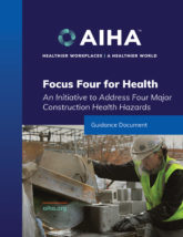 Focus Four for Health: An Initiative to Address Four Major Construction Health Hazards