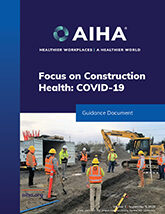 Focus on Construction Health COVID-19