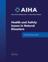 Health and Safety Issues in Natural Disasters