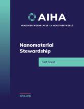 Nanomaterial Stewardship
