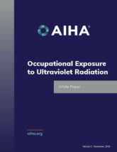 Occupational Exposure to Ultraviolet Radiation