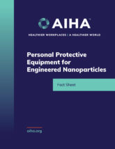 Personal Protective Equipment for Engineered Nanoparticles