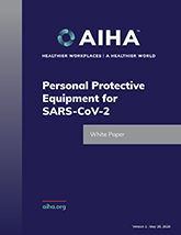 Personal Protective Equipment for SARS-CoV-2