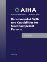 Recommended Skills and Capabilities for Silica Competent Persons