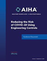 Reducing the Risk of COVID-19 using Engineering Controls