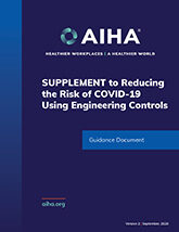 SUPPLEMENT to Reducing the Risk of COVID-19 Using Engineering Controls