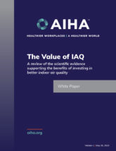 The Value of IAQ