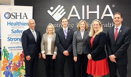 AIHA-OSHA MoU Signing 2