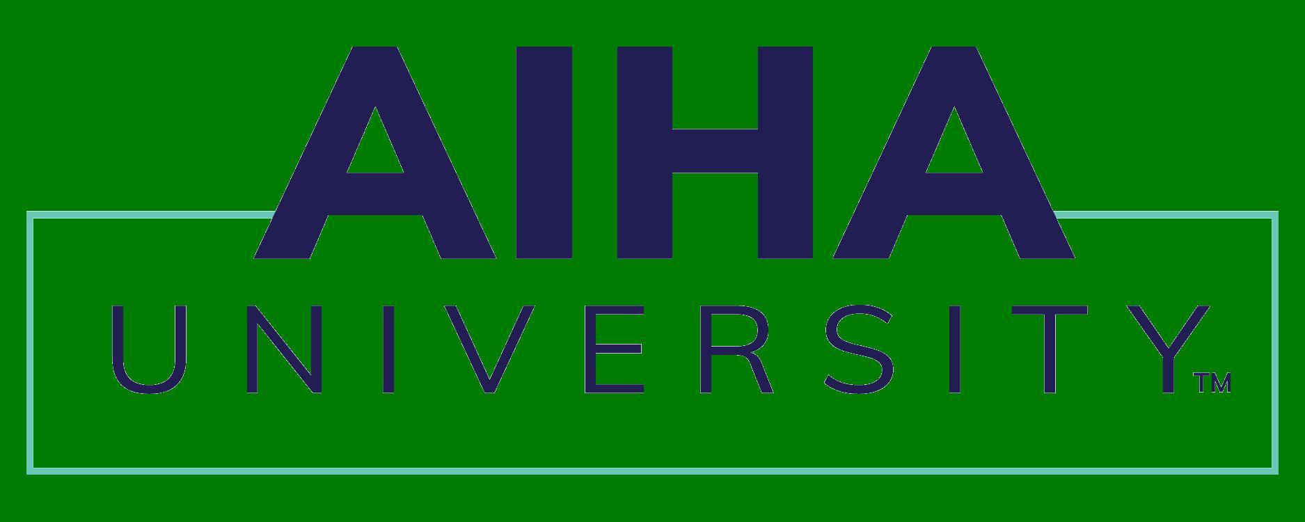 AIHA University Logo