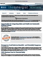 Synergist Newswire