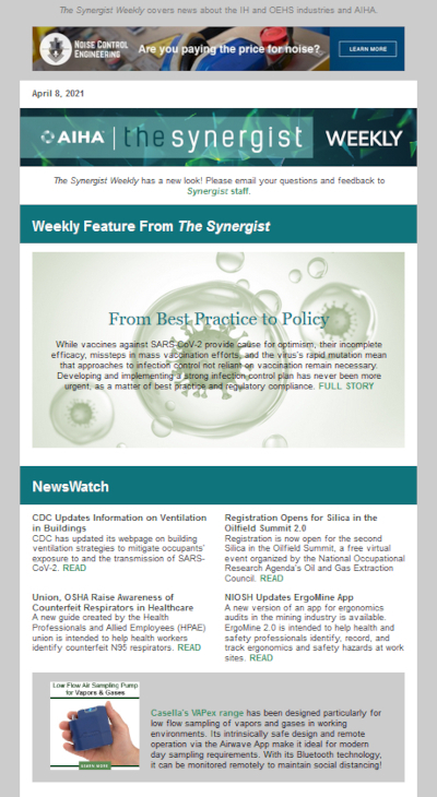 The Synergist Weekly